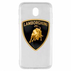 Чохол для Samsung J7 2017 Lamborghini Logo