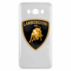 Чохол для Samsung J7 2016 Lamborghini Logo