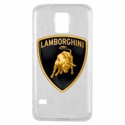 Чохол для Samsung S5 Lamborghini Logo