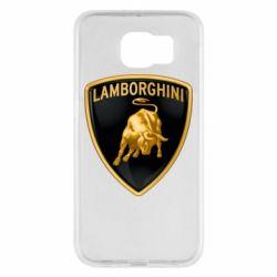 Чохол для Samsung S6 Lamborghini Logo