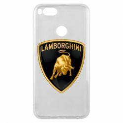 Чохол для Xiaomi Mi A1 Lamborghini Logo