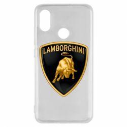 Чохол для Xiaomi Mi8 Lamborghini Logo