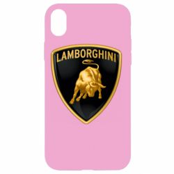Чохол для iPhone XR Lamborghini Logo