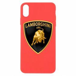Чохол для iPhone Xs Max Lamborghini Logo