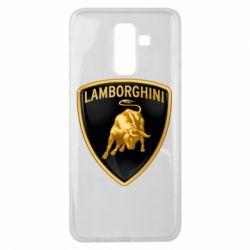 Чохол для Samsung J8 2018 Lamborghini Logo