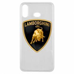 Чохол для Samsung A6s Lamborghini Logo