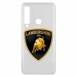 Чохол для Samsung A9 2018 Lamborghini Logo