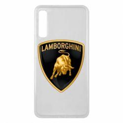 Чохол для Samsung A7 2018 Lamborghini Logo