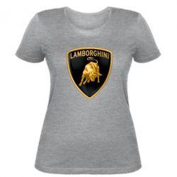 Женская футболка Lamborghini Logo