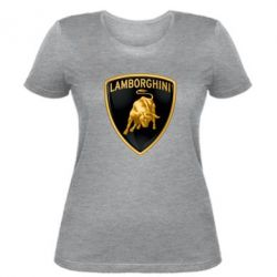 Женская футболка Lamborghini Logo - FatLine