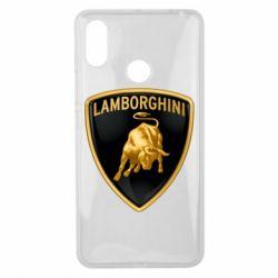 Чохол для Xiaomi Mi Max 3 Lamborghini Logo