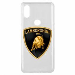 Чохол для Xiaomi Mi Mix 3 Lamborghini Logo