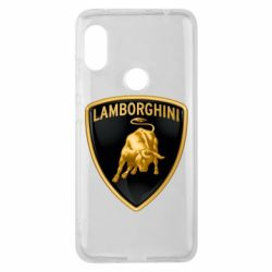Чохол для Xiaomi Redmi Note Pro 6 Lamborghini Logo