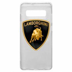 Чохол для Samsung S10+ Lamborghini Logo