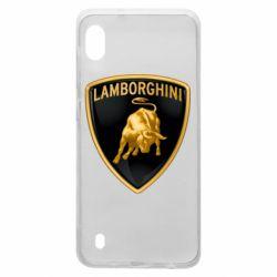 Чохол для Samsung A10 Lamborghini Logo