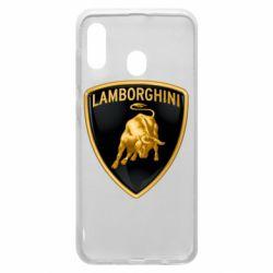 Чохол для Samsung A30 Lamborghini Logo