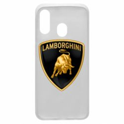 Чохол для Samsung A40 Lamborghini Logo
