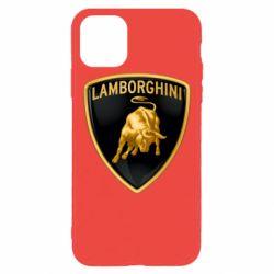 Чохол для iPhone 11 Pro Max Lamborghini Logo
