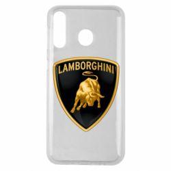 Чохол для Samsung M30 Lamborghini Logo