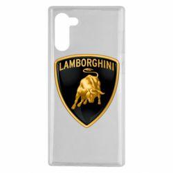 Чохол для Samsung Note 10 Lamborghini Logo