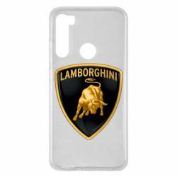 Чохол для Xiaomi Redmi Note 8 Lamborghini Logo