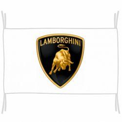 Прапор Lamborghini Logo