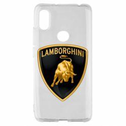 Чохол для Xiaomi Redmi S2 Lamborghini Logo