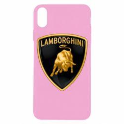 Чохол для iPhone X/Xs Lamborghini Logo