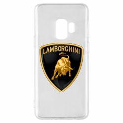 Чохол для Samsung S9 Lamborghini Logo
