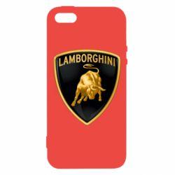 Чохол для iphone 5/5S/SE Lamborghini Logo
