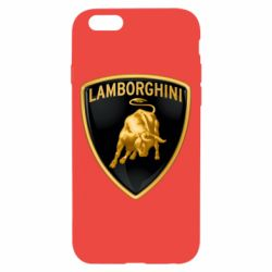 Чохол для iPhone 6/6S Lamborghini Logo