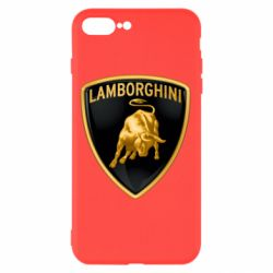 Чохол для iPhone 8 Plus Lamborghini Logo