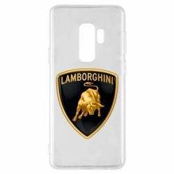 Чохол для Samsung S9+ Lamborghini Logo