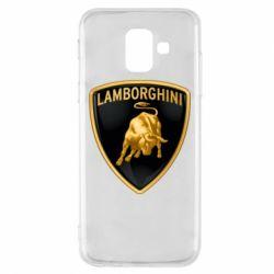 Чохол для Samsung A6 2018 Lamborghini Logo
