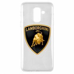 Чохол для Samsung A6+ 2018 Lamborghini Logo