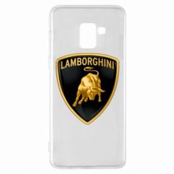 Чохол для Samsung A8+ 2018 Lamborghini Logo