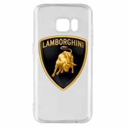 Чохол для Samsung S7 Lamborghini Logo