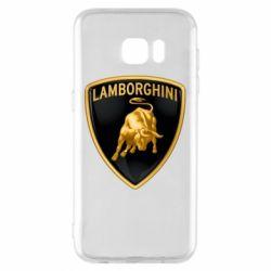 Чохол для Samsung S7 EDGE Lamborghini Logo