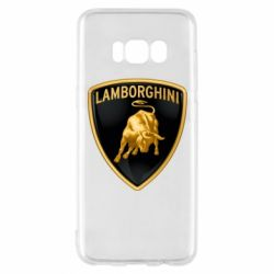 Чохол для Samsung S8 Lamborghini Logo
