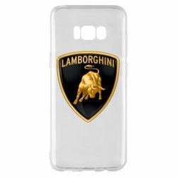 Чохол для Samsung S8+ Lamborghini Logo