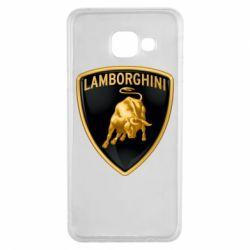 Чохол для Samsung A3 2016 Lamborghini Logo