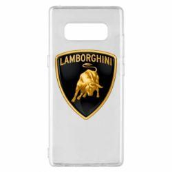 Чохол для Samsung Note 8 Lamborghini Logo