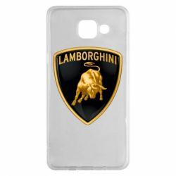Чохол для Samsung A5 2016 Lamborghini Logo