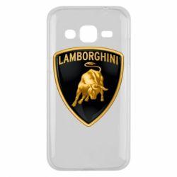 Чохол для Samsung J2 2015 Lamborghini Logo