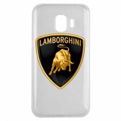 Чохол для Samsung J2 2018 Lamborghini Logo