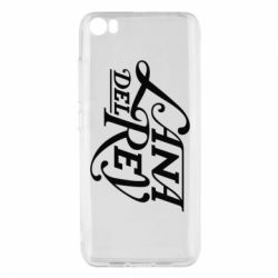 Чохол для Xiaomi Mi5/Mi5 Pro Lana Del Rey