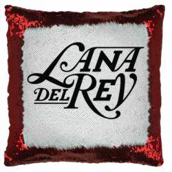 Подушка-хамелеон Lana Del Rey