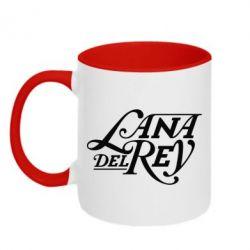 Кружка двоколірна 320ml Lana Del Rey