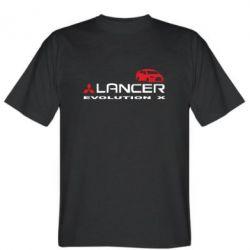 Мужская футболка Lancer Evolution X - FatLine