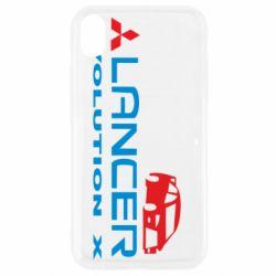 Чехол для iPhone XR Lancer Evolution X